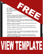Prenuptial Agreement Form Pdf Word Template Free